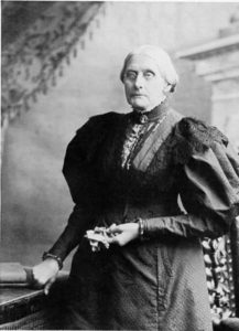 Susan B. Anthony, ca 1900